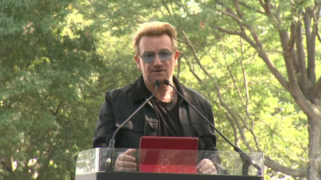 SPEECH Bono says John Lennon was an immigrant on Yoko Ono being born in Tokyo Japan lists several more significant immigrants at Bono and Yoko Ono...