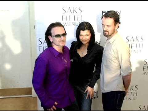 Bono wife Ali Hewson and Rogan Gregory designer at the Launch of the New Conscious Commerce Clothing Line By Bono Ali Hewson and Rogan Gregory at...