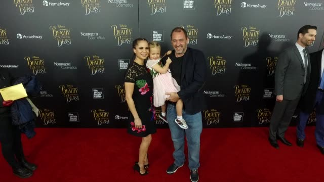 boogie tillmon trey parker at beauty and the beast new york screening at alice tully hall on march 13 2017 in new york city - trey parker stock videos & royalty-free footage