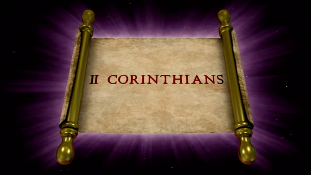 books of new testament - 2 corinthians - new testament stock videos & royalty-free footage