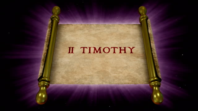 books of new testament - 2 timothy - new testament stock videos & royalty-free footage
