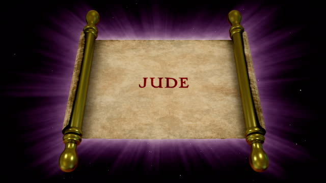 books of new testament - jude - new testament stock videos & royalty-free footage