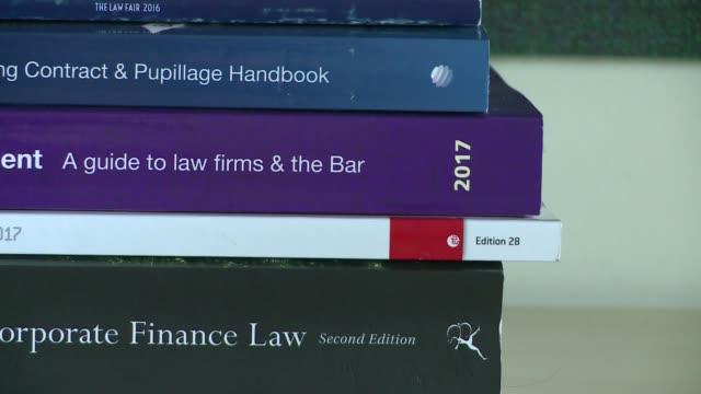 books on legal topics - english language stock videos & royalty-free footage