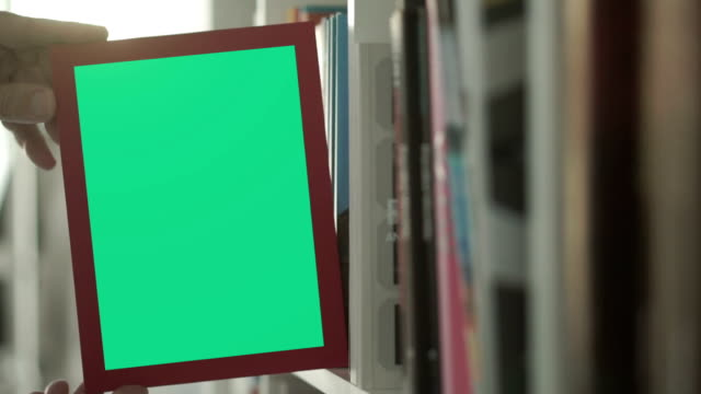 bookshelf chromakey          id - book cover stock videos & royalty-free footage