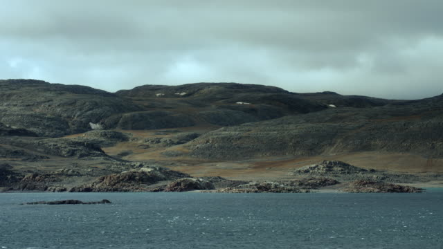 boothia peninsula coast in canada - northwest passage stock videos and b-roll footage