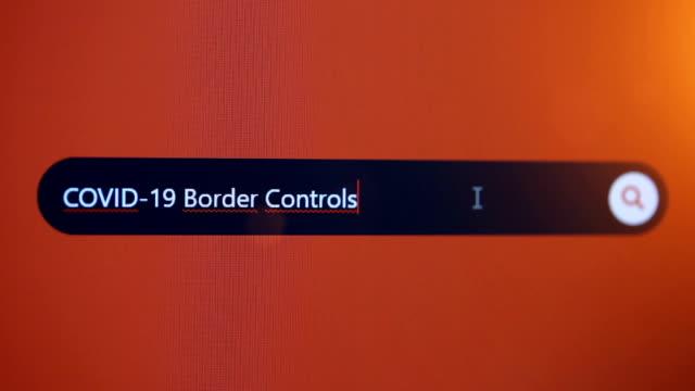 vídeos de stock, filmes e b-roll de controles de fronteira covid-19 - ocidentalização