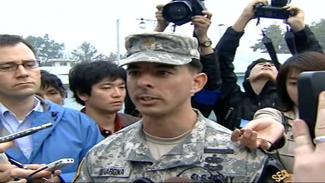 Border Major Jose Devarona speaking to press SOT North Korean troops at border appear more confident since nuclear test
