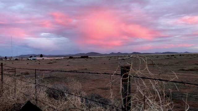 a us border patrol agent's drives along the usmexico border fence on january 30 2019 in antelope wells new mexico since october dozens of large... - united states border patrol stock videos & royalty-free footage