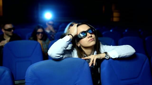Boring time in cinema