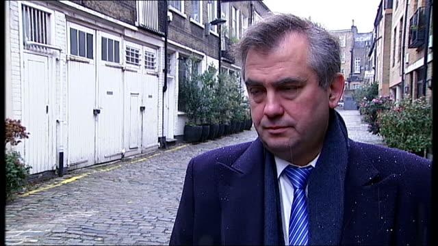 alexander nekrassov interview england central london alexander nekrassov interview sot - 実業家 ボリス・ベレゾフスキー点の映像素材/bロール