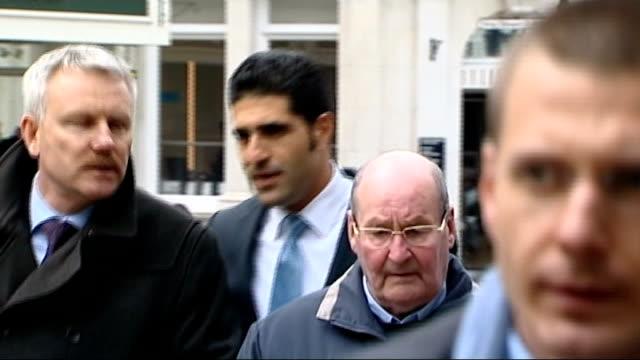 inquest told berezovsky was depressed 25314 windsor guildhall ext avi navama arriving at inquest - 実業家 ボリス・ベレゾフスキー点の映像素材/bロール