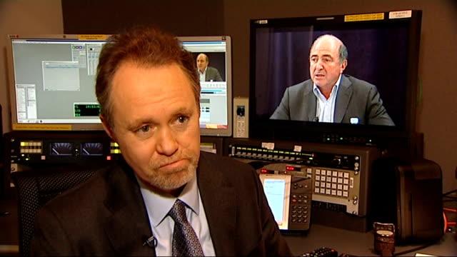 boris berezovsky found dead at his berkshire home england london int lord truscott interview sot litvinenko was regarded as a traitor by kremlin and... - 実業家 ボリス・ベレゾフスキー点の映像素材/bロール
