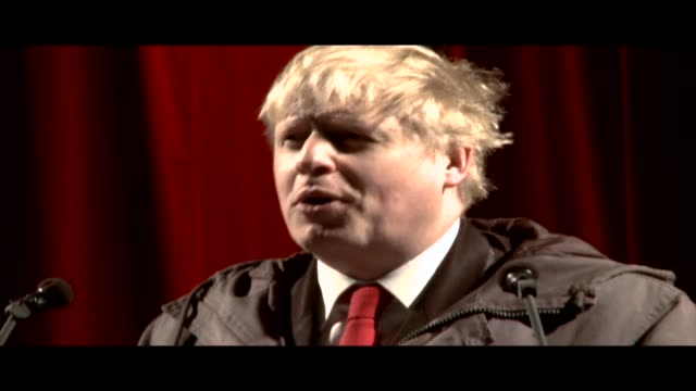 boris johnson, a british politician who has served as mayor of london since 2008, reading 'the greatest hangover description' from lucky jim by... - kingsley amis stock videos & royalty-free footage