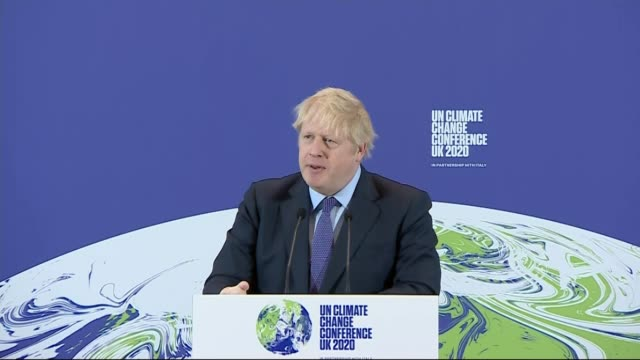 boris johnson accused of not understanding climate change; england: london: science museum: int boris johnson mp to podium boris johnson mp speech... - itv stock videos & royalty-free footage
