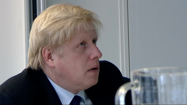 Boris Johnson and David Cameron at the Jill Dando Institute Ken Livingstone campaigning for Mayor in Stoke Newington Boris Johnson listening intently...