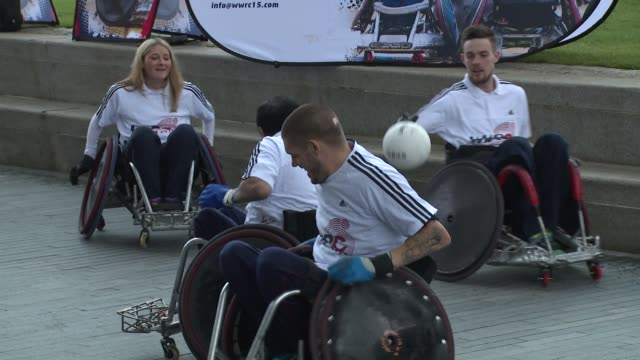 wheelchair rugby videos and b roll footage getty images