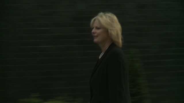boris johnson backs change britain campaign on brexit implementation r12071609 ext anna soubry mp then minister for small business industry and... - itv weekend evening news点の映像素材/bロール