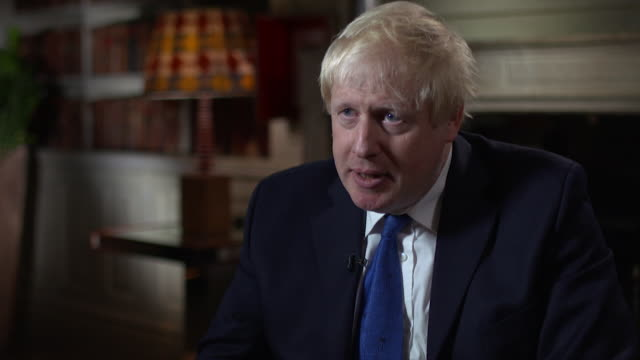 Boris Johnson believes his job is to 'speak up for what I believe inand I am going to keep on going for as long as it takes'