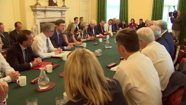stockvideo's en b-roll-footage met boris johnson criticised by statistics watchdog over revival of brexit referendum nhs pledge lib / 1262017 downing street number 10 various of prime... - prime minister