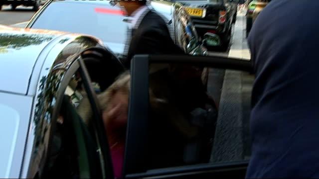 boris johnson criticises government uturn on runway at heathrow justine greening mp into car new transport secretary patrick mcloughlin mp out of car - patrick mcloughlin stock videos and b-roll footage