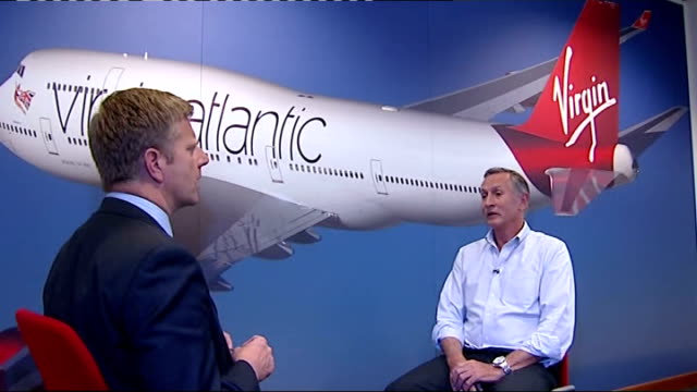 boris johnson criticises government u-turn on runway at heathrow; zac goldsmith mp interview sot int steve ridgway chatting with itn reporter steve... - christine taylor stock videos & royalty-free footage