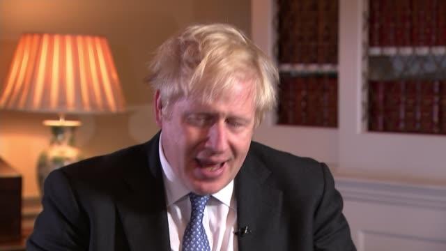 Boris Johnson declares hospices will get £25 million cash boost to secure future UK Boris Johnson MP interview re hospice cash boost various shots of...