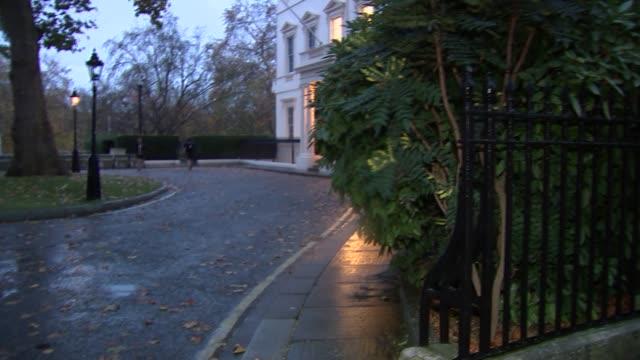 London Carlton Gardens Boris Johnson MP along jogging and ignoring questions