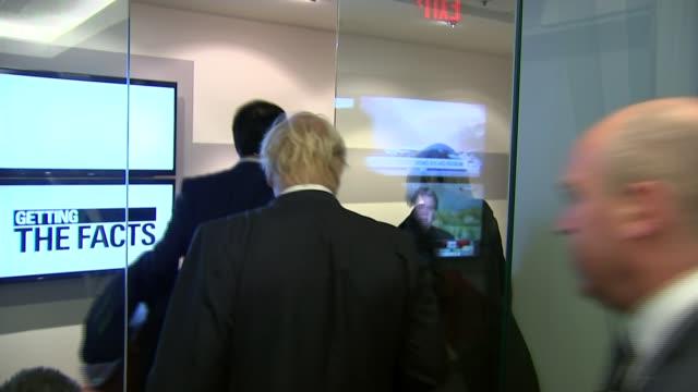 Washington DC INT Boris Johnson MP along
