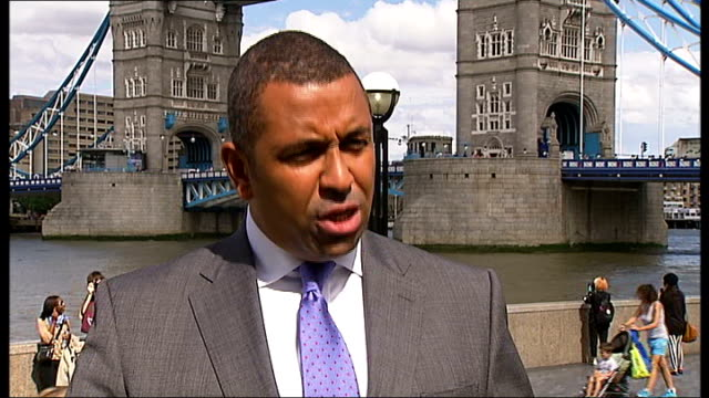 boris johnson gives goahead for closure of 10 fire stations in london england london ext james cleverley interview sot - emergency planning stock videos & royalty-free footage