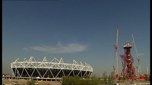 Boris Johnson gives Tottenham Hotspur ultimatum over Olympic Stadium bid ENGLAND London Stratford ArcelorMittal Orbit still under construction TILT...
