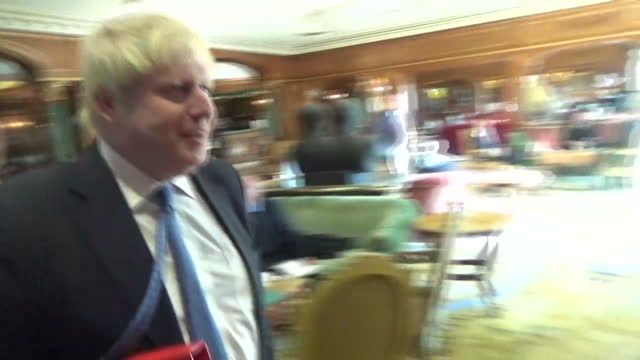 boris johnson has insisted britain does have a plan for brexit and told sky news he has no doubt government negotiators can achieve it the foreign... - 提訴点の映像素材/bロール
