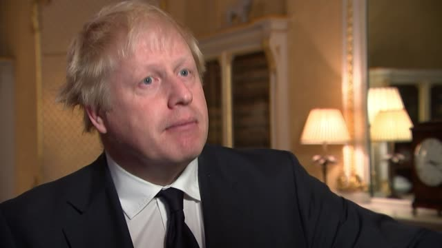 Boris Johnson hosts Yemen meeting ENGLAND London INT Boris Johnson MP interview SOT What we need to do is to find ways of reassuring the Saudis that...