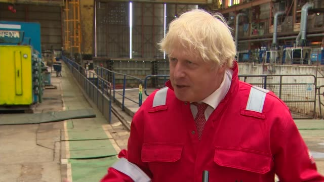 boris johnson interview; england: devon: appledore: int boris johnson mp interview sot. re proms - if correct, which cannot believe, bbc saying will... - social history stock videos & royalty-free footage