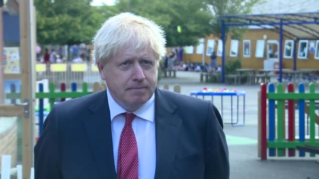 boris johnson interview; england: kent: ext boris johnson mp interview sot q: on covid-19 and likelihood of vaccine before end of year - i wish i... - {{relatedsearchurl(carousel.phrase)}} video stock e b–roll