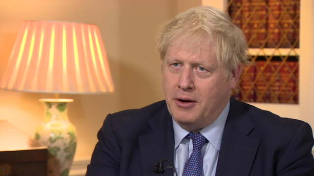 boris johnson intv brexit will enable the uk to build partnerships around the world - cooperation stock videos & royalty-free footage