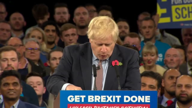 boris johnson joking that the brexit delay is like a bendybus jackknifed on a yellow box junction - cheerful stock videos & royalty-free footage