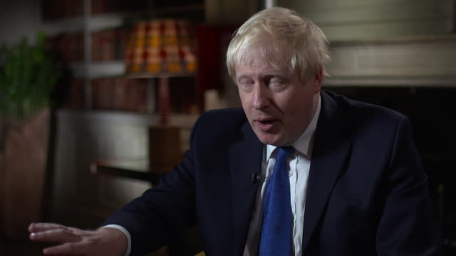 Boris Johnson on removing the 'backstop' between the Northern Ireland and Ireland border post Brexit
