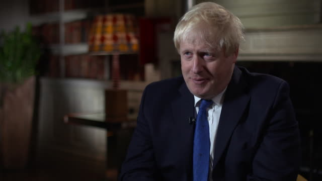 boris johnson on the chequers' brexit strategy saying 'it doesn't take back control, it relinquishes control' - boris johnson stock videos & royalty-free footage