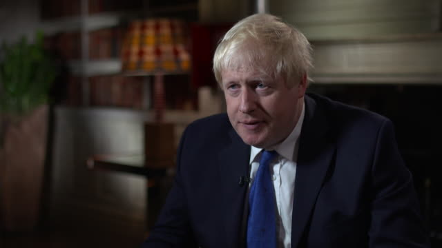 boris johnson on why he resigned from the cabinet saying 'i could not see how i could support an arrange that i don't think is in this country's... - boris johnson stock videos & royalty-free footage