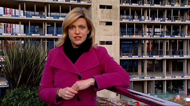 stockvideo's en b-roll-footage met boris johnson outlines solution to london's lack of housing greenwich square int model of new housing development tom copley interview sot his... - dining room