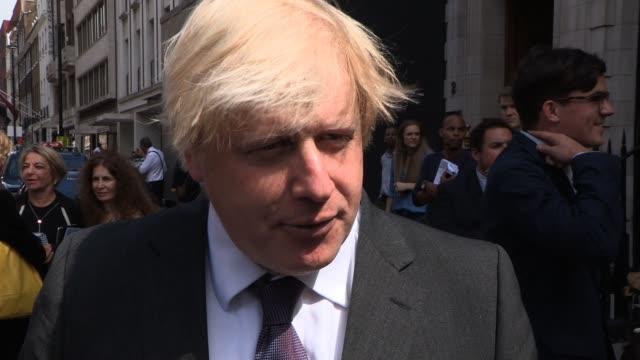 CLEAN Boris Johnson Photocall/Inte on June 18 2013 in London England