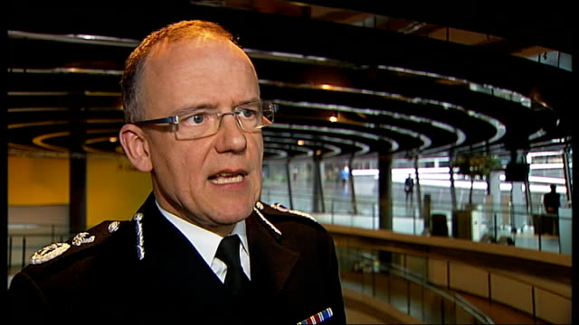 boris johnson questioned over plans to use water cannon on streets of london london int assistant commissioner mark rowley interview sot - water cannon stock videos and b-roll footage
