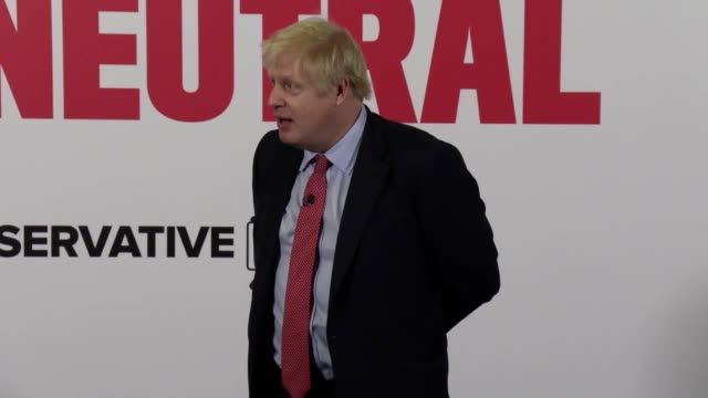 boris johnson responds to john major's comments about encouraging people to not vote for certain conservative party candidates the former tory prime... - boris johnson stock videos and b-roll footage