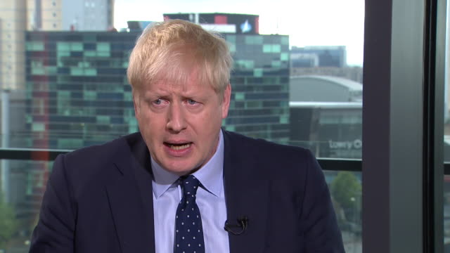 boris johnson ruling out doing a deal with nigel farage's brexit party - rejection stock videos & royalty-free footage