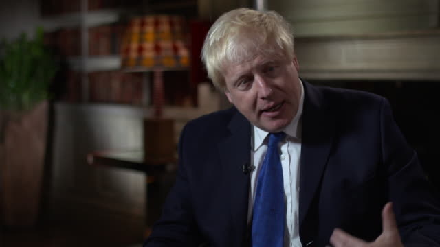 Boris Johnson saying he believes that Brexit has 'been blown a bit off course'