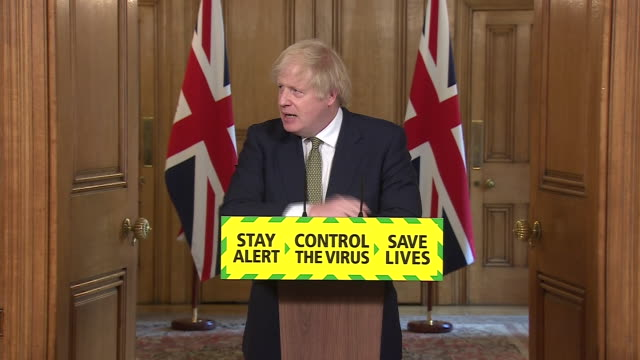 "boris johnson saying he ""totally gets"" public frustration to dominic cummings travelling from london to durham with coronavirus symptoms, but they... - emotional stress stock videos & royalty-free footage"