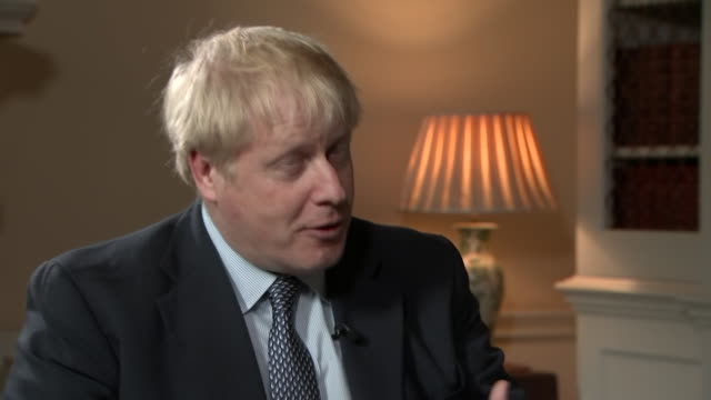 boris johnson saying he wants mp's to imagine what it could be like if his deal is voted through and brexit is settled - finishing stock videos & royalty-free footage