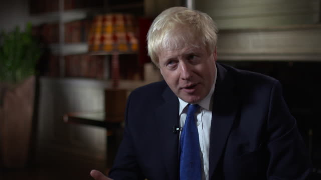 Boris Johnson saying 'I stayed in cabinet for as long as I could persuade myself that there was still a chancethat we would stick with the original...