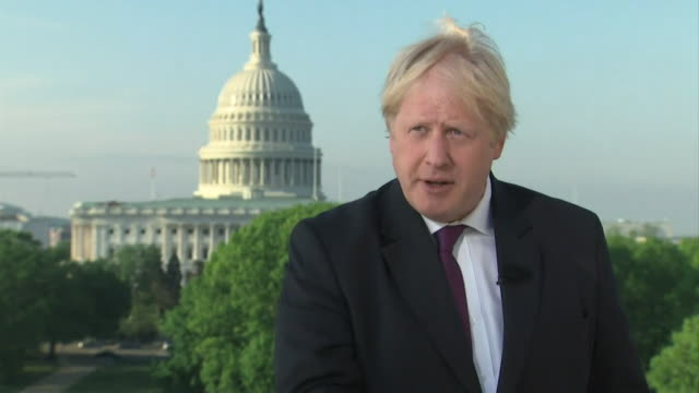 boris johnson saying if donald trump fixes the iran nuclear deal then he is no less a candidate for a nobel peace prize than barack obama - boris johnson stock videos and b-roll footage