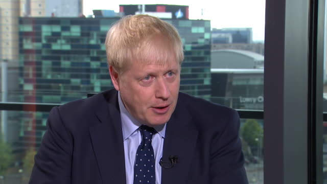 boris johnson saying if the eu suspects the uk can be kept in beyond the 31st october it will take away a lot from the uk's negotiating hand - hand stock videos & royalty-free footage